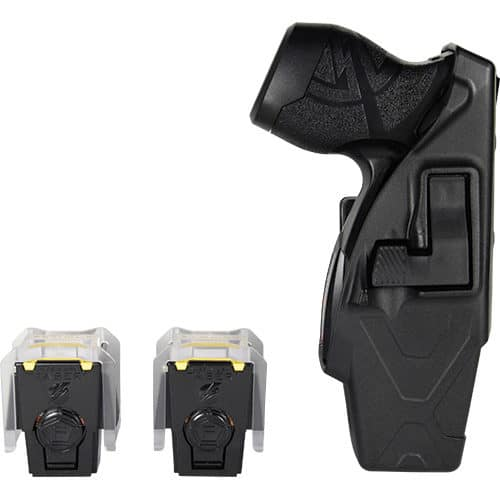 x26p black taser with laser and two cartridges