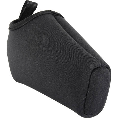 angled side view soft holster for taser pulse