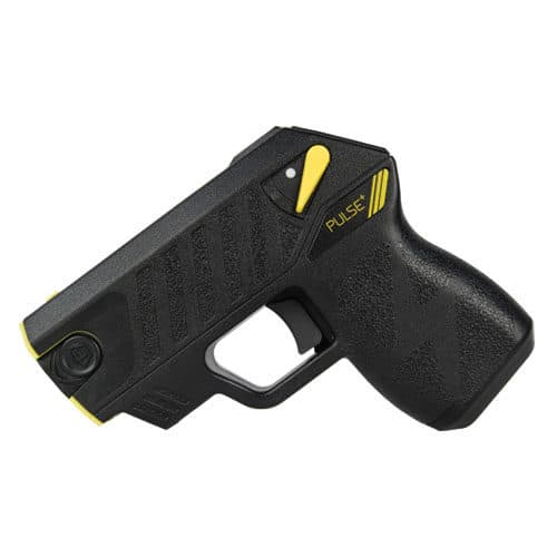 left side view of taser pulse plus black
