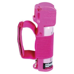 jogger pepper spray mace side view