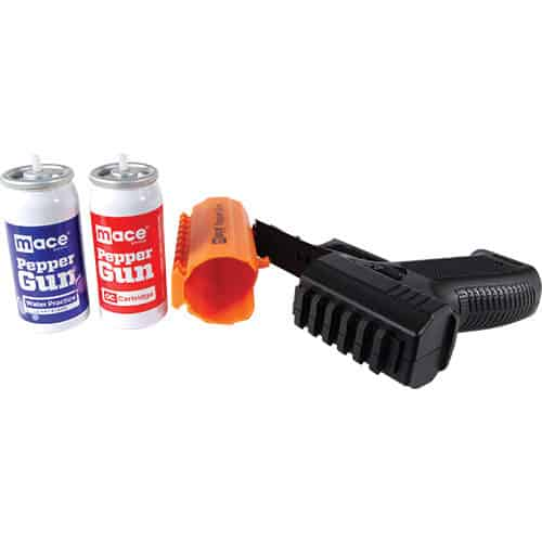 2 canisters of mace with gun 2.0