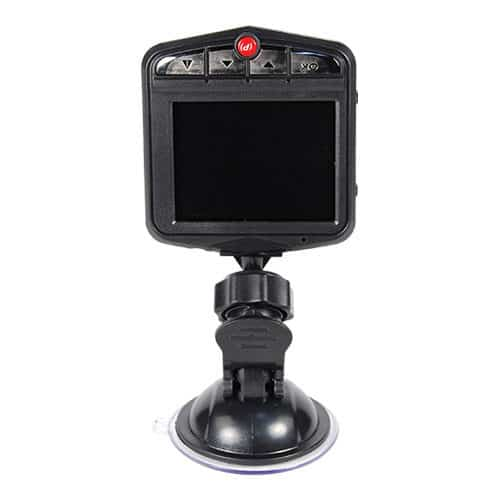 HP dash cam with dvr built in screen view