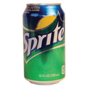 can of sprite diversion safe standing front view
