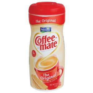 coffee creamer diversion safe standing with front view