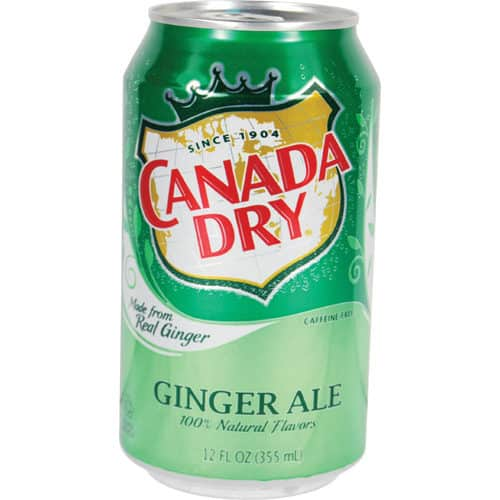 Canada dry ginger al can diversion safe