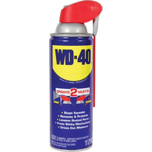 WD40 oil can diversion safe