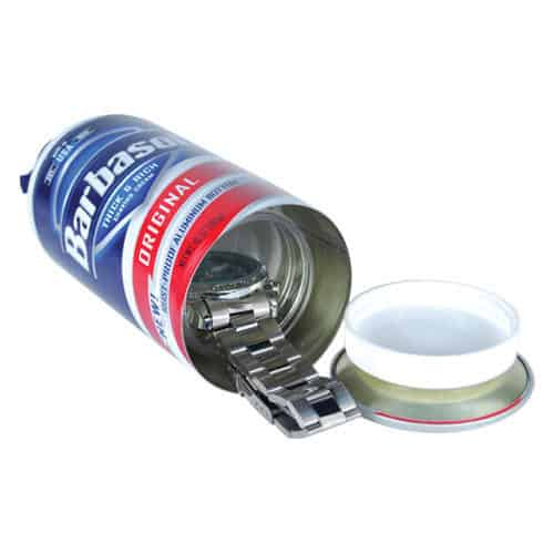 lubricant canister diversion safe laying on side