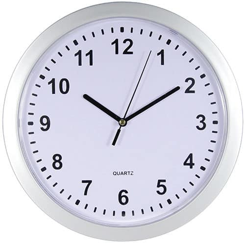 wall clock diversion safe front view