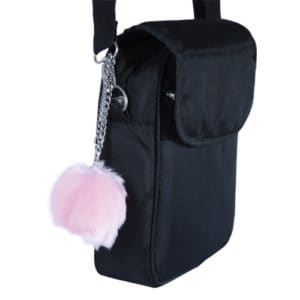 fur buzzer personal alarm with chain