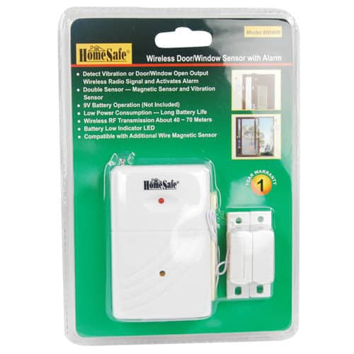 wireless homesafe security sensor inpackage