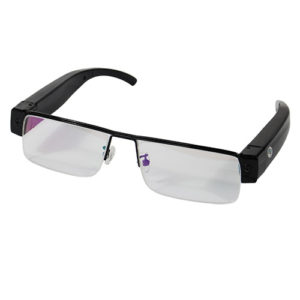 eye glasses with hd hidden camera glass view
