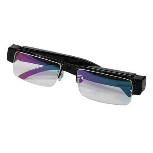 folded glasses with hd hidden camera