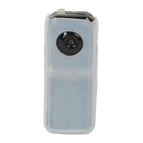 front view of mini hidden spy camera with DVR white