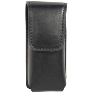 rear black leatherette holster