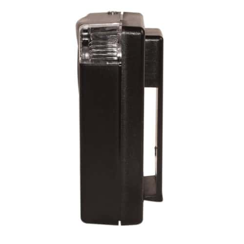 130db personal alarm 3 in 1 with light side view