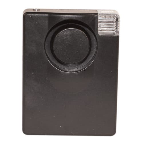 130db personal alarm 3 in 1 with light front view