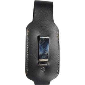 leatherette 4 oz pepper spray holster clip view