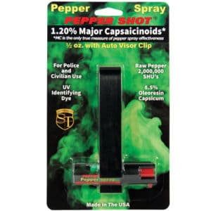 car visor pepper shop pepper spray in package