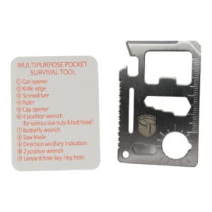 business card multi functional in out of holder