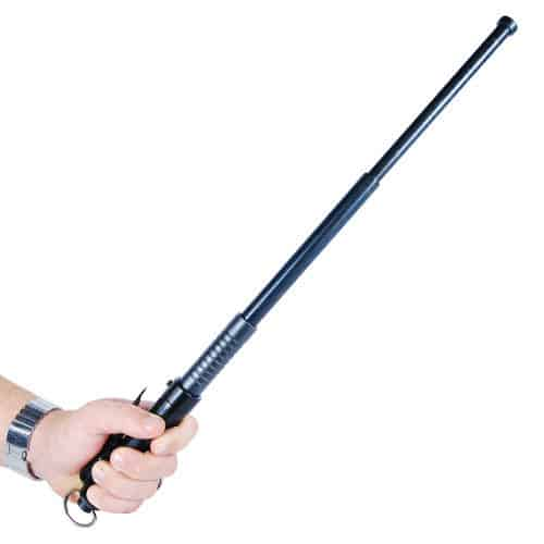 20.5 inch steel baton full view extended