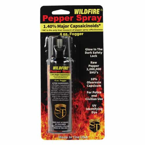 paper spray fogger wildfire 16 oz front view in packate