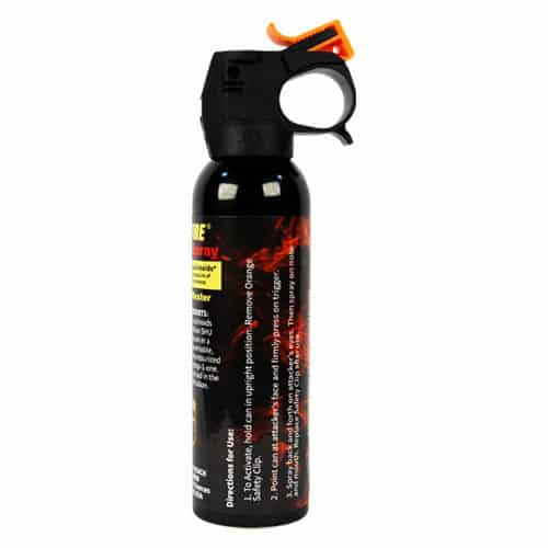 paper spray fogger wildfire 16 oz front view side view