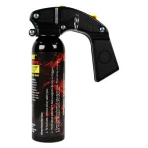 paper spray fogger wildfire 16 oz front view side view with trigger handle