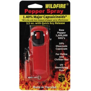 wildfire pepper spray in package red