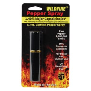 lipstick windfire pepper spray in package back