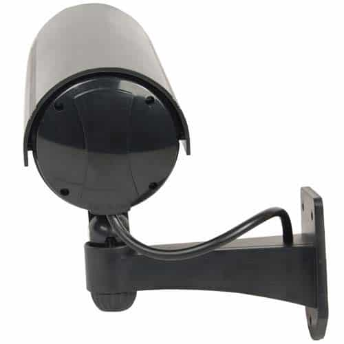 black bullet style dummy cam front view
