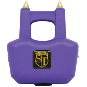 two prong purple spike stun gun