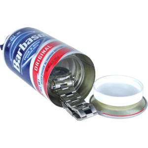 can of shaving cream diversion safe